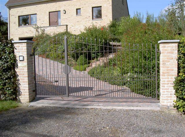 Fabricant de cl ture murale en fer forg porte d 39 entr e en m tal acier bois fen tre - Fabricant de porte d entree ...