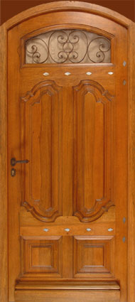Fabricant de porte d 39 entr e portail garage en bois fer forg aluminium pvc fen tre for Porte d entree fer forge algerie
